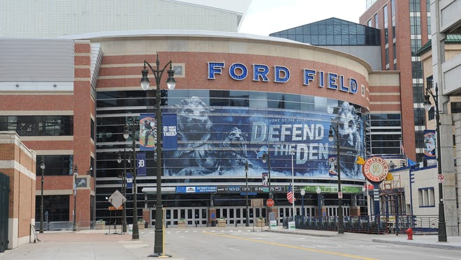 Ford Field is home of the Detroit Lions and the proposed venue for a Detroit MLS team.