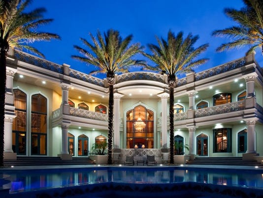Vero Beach Mansion for auction