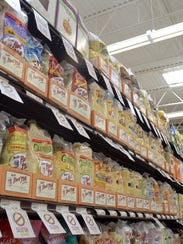 Store shelves at Northville Township's Fresh Thyme