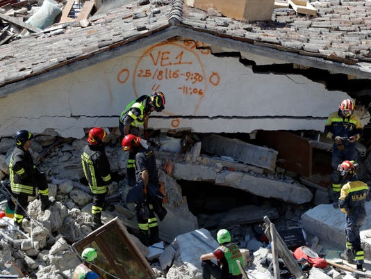Italy Quake 3 AP