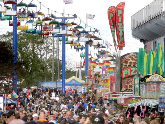 Scenes from the Wisconsin State Fair