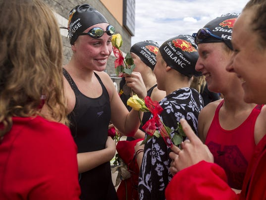 Div. II Swimming State Championship