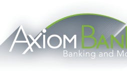 Axiom Bank, a community bank headquartered in Central Florida, recently opened its newest branch inside the Walmart Supercenter at 1000 N. Wickham Rd. Melbourne.