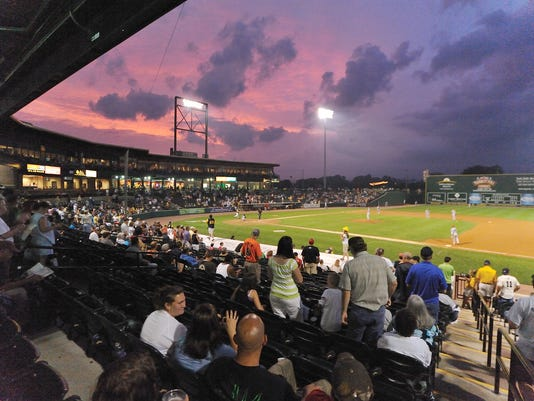 Sovereign Bank Stadium, home of the York Revolution, will host the YAIAA baseball tournament today and Tuesday. (Daily Record/Sunday News -- File)