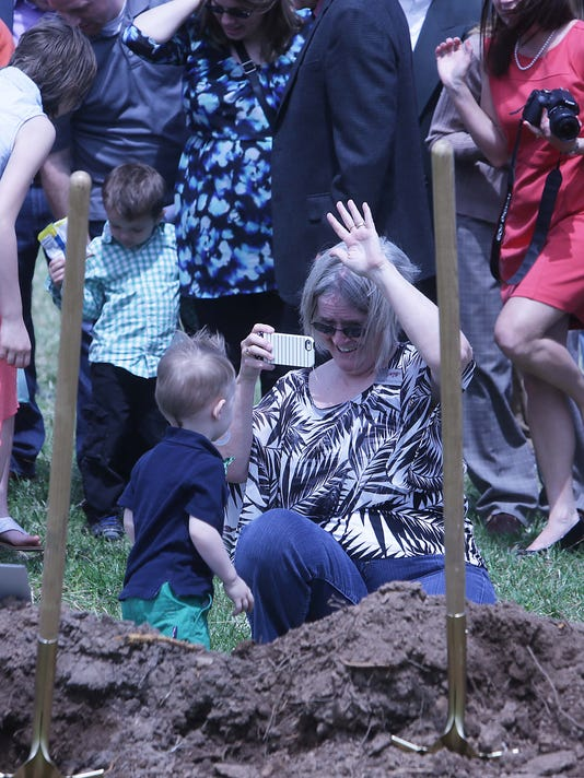 Hamlin Church Groundbreaking