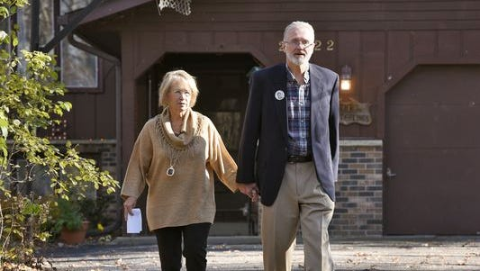 Patty and Jerry Wetterling.