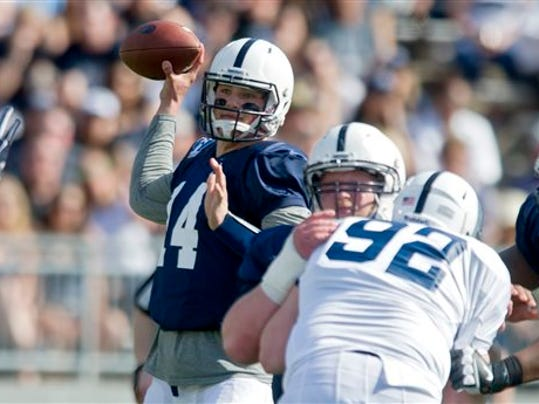 Penn State quarterback Christian Hackenberg is hoping to rebound after a mediocre sophomore season.