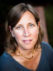 Susan Wojcicki, 46, CEO of YouTube.