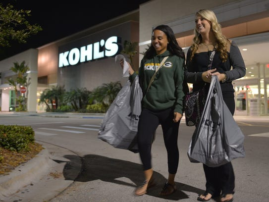 Kohl's will open at 6 p.m. Thanksgiving for its Black