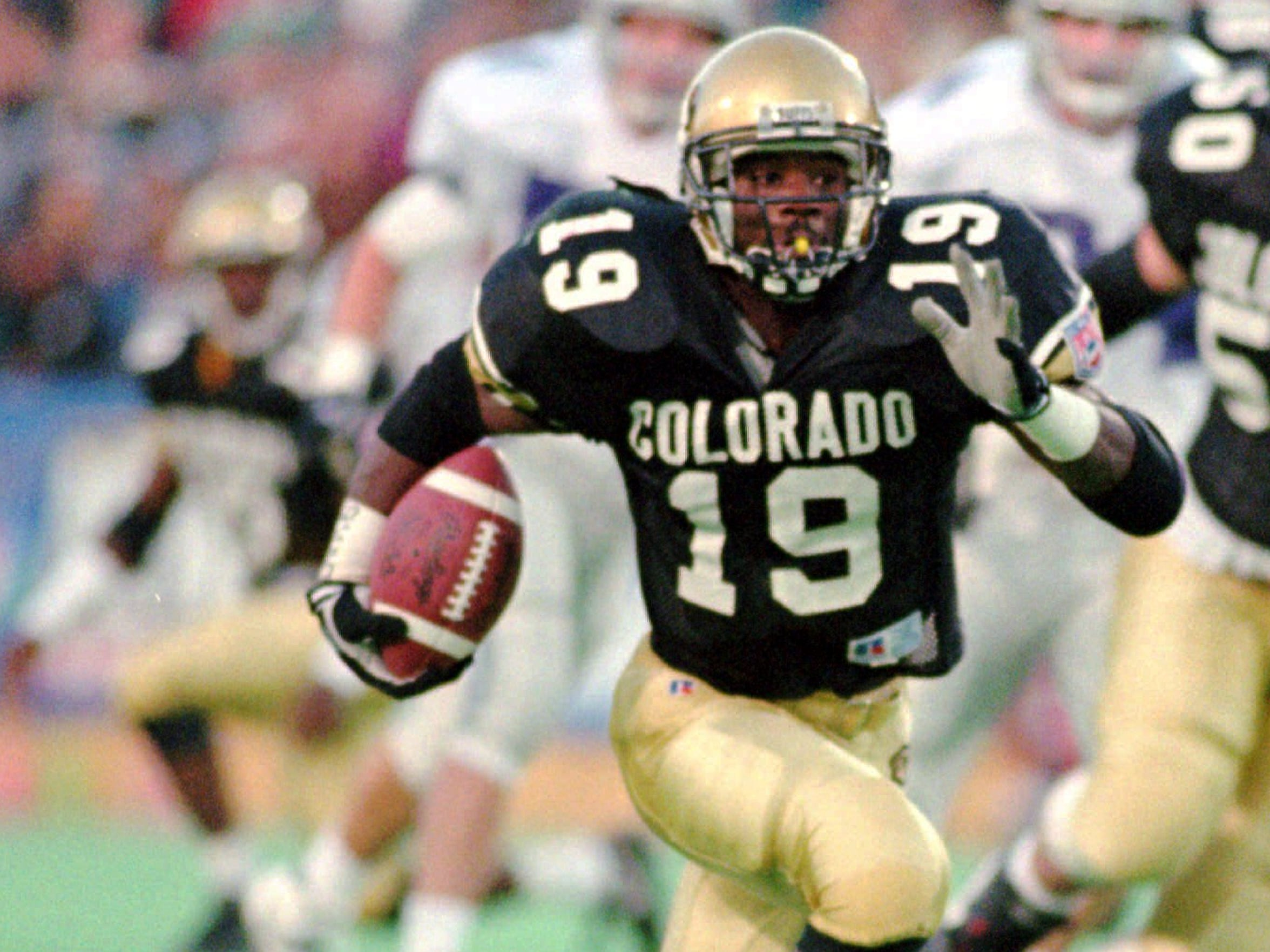 Salaam in 1994 became the fourth player in college