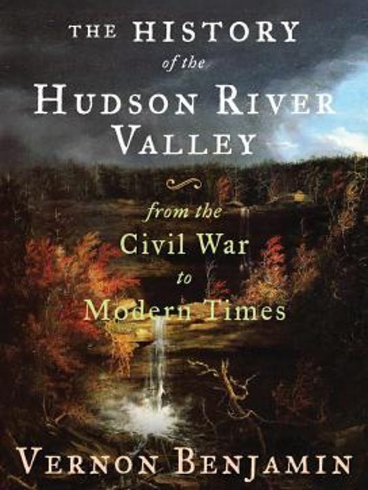 'History Hudson River Valley' book cover
