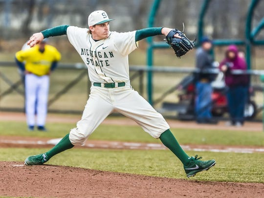 MSU senior Mick VanVossen went 4-5 in 14 starts this spring, finishing with 6.00 ERA and 50 strikeouts in 69 innings this spring. He was a 49th-round pick by the Texas Rangers in the 2011 draft out of Grand Rapids Forest Hills Central High.
