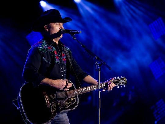 John Rich of Big & Rich performs during the NHL All-Star