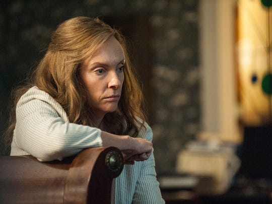 "Toni Collette in a scene from ""Hereditary."""