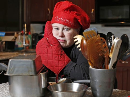 Sharon Brana photographed the kitchen of her Ossining home on Friday, December 16, 2016.