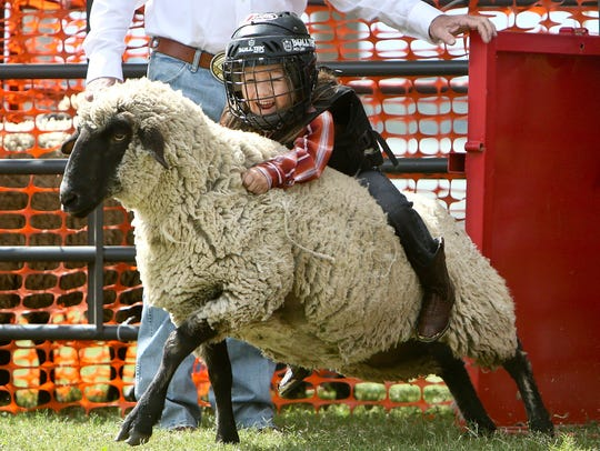 It's not all about Mutton Bustin.' Rodeo Corpus Christi