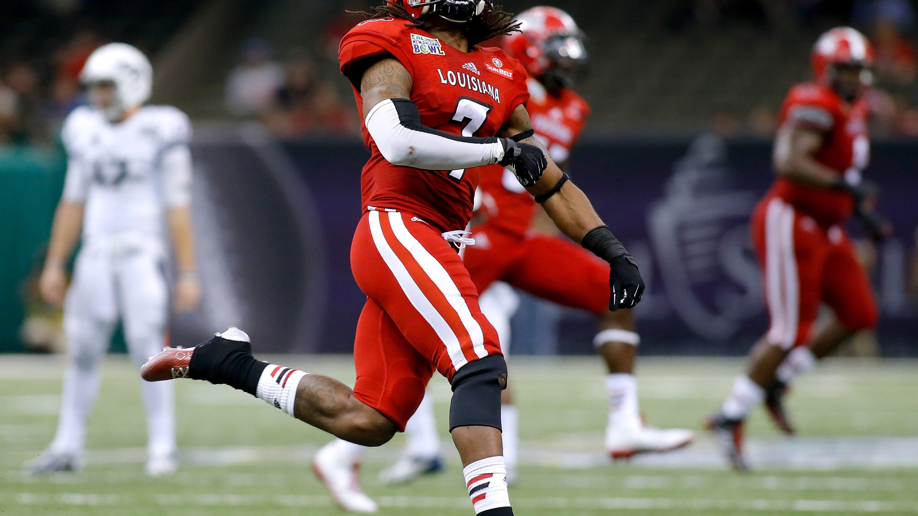 La Lafayette Beats Nevada In New Orleans Bowl 16 3
