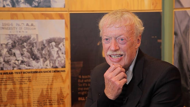 Phil Knight announced in April that he will be stepping down as Nike's chairman in 2016.