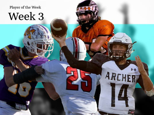 TRN Week 4 Player of the Week Illustration