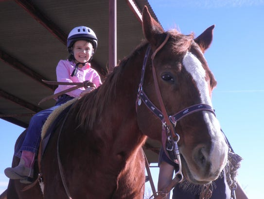 NMSU Therapeutic Riding Program.