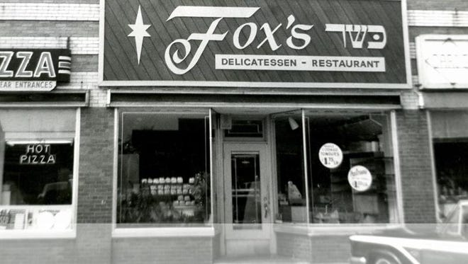 Fox's Deli at Twelve Corners in Brighton, circa 1963.