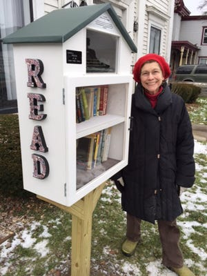 The Little Library in Groton