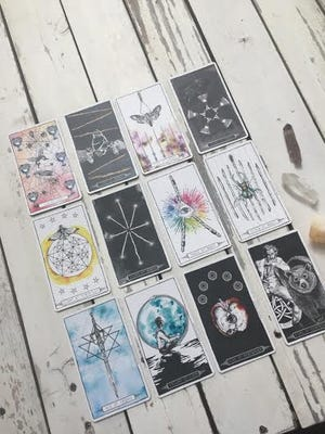 Our everyday human experience is the focus of this week's tarot spread. All the dreaming, planning and plotting that we've done is now starting to manifest into our physical realities. Take stock of what is working, what is fitting and what is enhancing your life.
