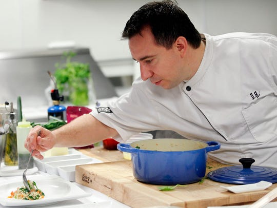 Chef David Baruthio is teaming up with Mike Crownover