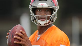 Buccaneers quarterback Jameis Winston is known nationally more for antics than he is on-field heroics and supreme physical traits.