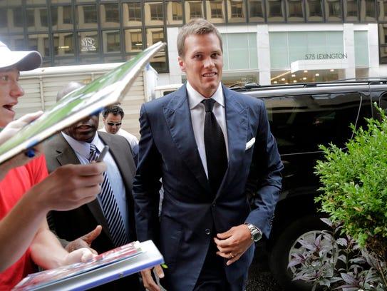 Tom Brady apeló la decisión de suspenderlo por cuatro