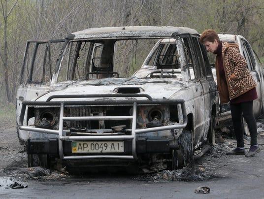 Ukraine shooting