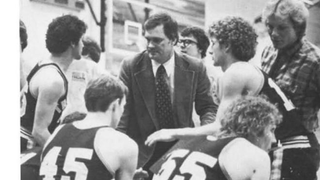 Gary Senske coached Minnesota Crookston men's basketball from 1981 to 2002, guiding them from the junior college ranks to the NAIA to the NCAA Division II.