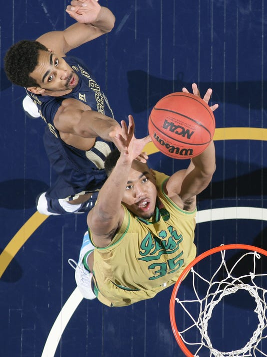 NCAA Basketball: Georgia Tech at Notre Dame