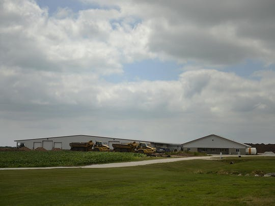 Large-scale dairy farms and other industry are being