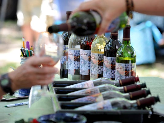 Try samples from more than 40 wineries at the Maryland Wine Festival in Westminster, Md., Sept. 19 and 20.