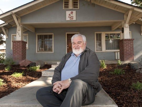 Bailey Hagar is retiring from The Creative Center. Photo taken on Monday, November 9, 2015.