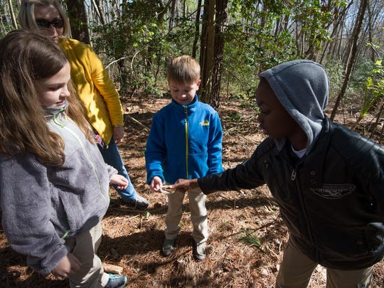 On Sundays at 1:30 p.m. Abbott's Mill Nature Center has a Critter Corner.