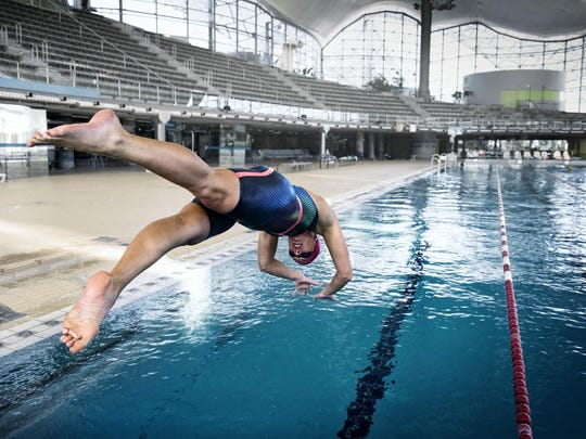 Allison Schmitt of Canton will swim in two relays at the Rio Olympics.