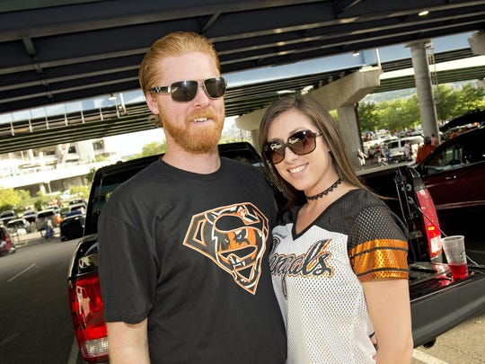 Bengals tailgaters
