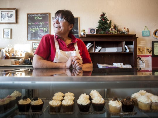 Penny Velk's Havre business, Henny Penny Cupcakes, specializes in cupcakes, cake and soup. She's created a homey atmosphere and a popular lunch spot downtown.