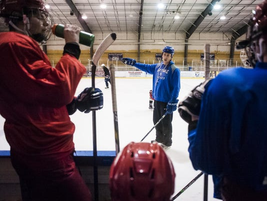 GFHS Hockey Practice