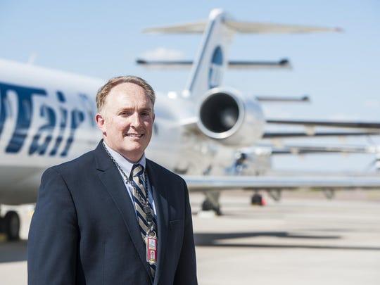 Great Falls International Airport Director John Faulkner