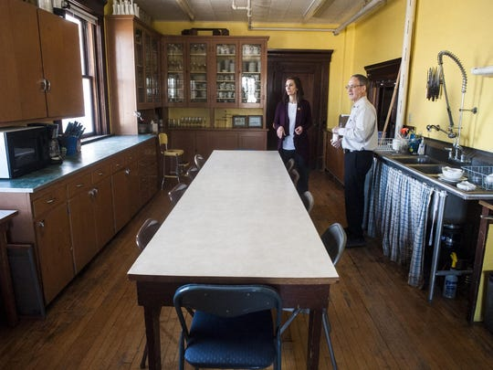 Havre Historic Properties remodeled the old Mason hall. A commercial kitchen and large reception area are available for rent.