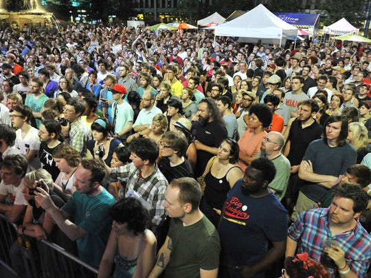 The PNC Summer Music Series Friday nights on Fountain Square is a must-attend event for indie music fans.