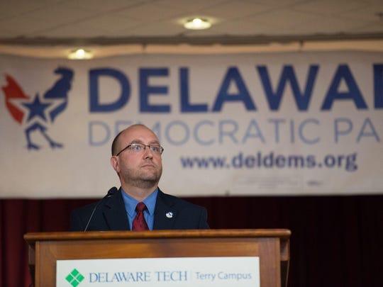 Delaware Democratic PartyChairman Erik Raser-Schramm criticized Lawson's comments in a statement Tuesday evening.