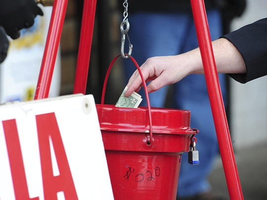 Other unusual donations have been reported in Salvation Army kettles around the country, including a gold bar in Kentucky and a more than century-old gold coin in North Carolina.