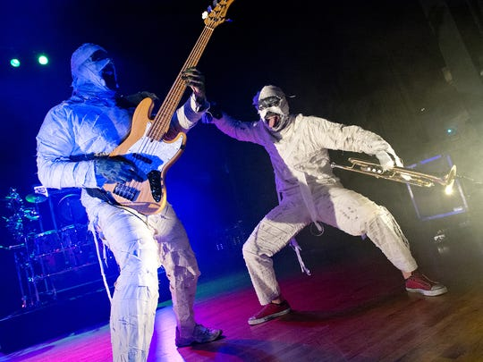Here Come the Mummies.