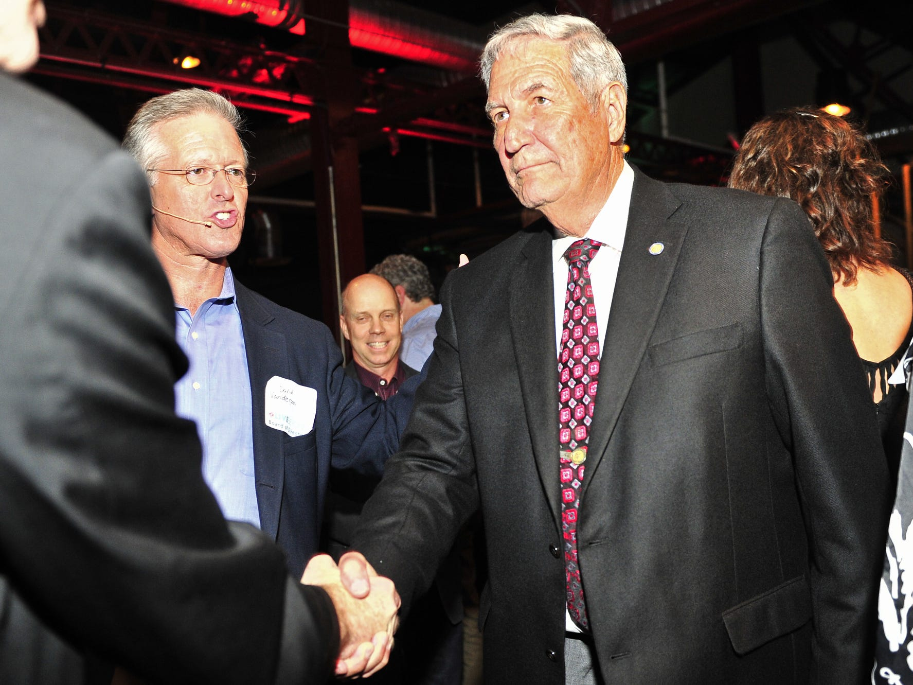 Gene Stallings, a longtime coach at Alabama and father of Laurie Vanderpool, has been to Haiti twice and raised about $450,000 for the cause.