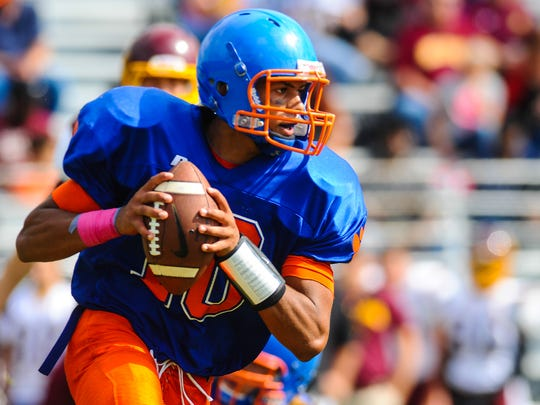 Shane Leatherbury and Delmar started the season 0-4 before earning their first win against Milford last Saturday.