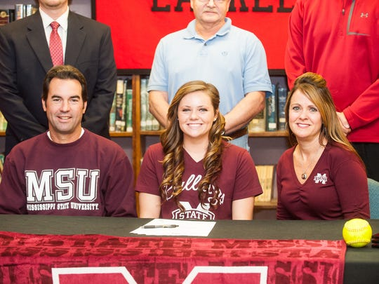 Laurel High School senior Regan Green has signed her National Letter of Intent to play softball at Mississippi State following her graduation.